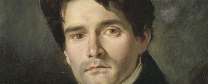 Détail du portrait de Léon Riesener par Delacroix