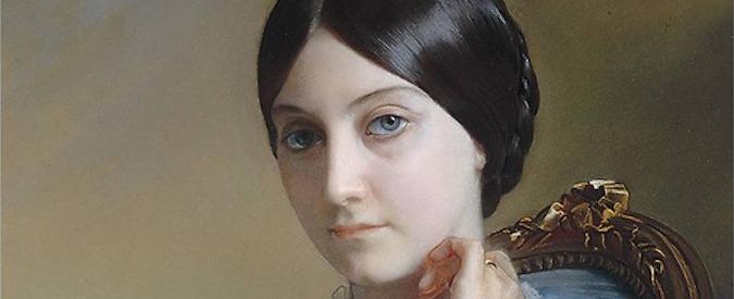 Portrait de Laure Riesener par Léon Riesener