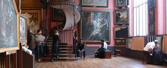 Musée Gustave Moreau à Paris, atelier d'artiste