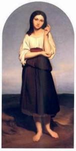 Ary Scheffer, Mignon regrettant la patrie, huile sur toile, 1839
