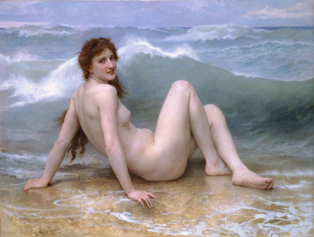 William Bouguereau, La Vague