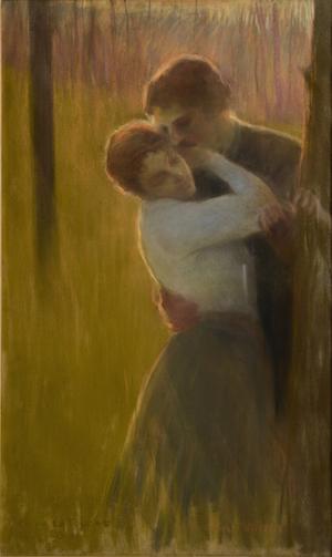 Gaston La Touche, Les Amoureux