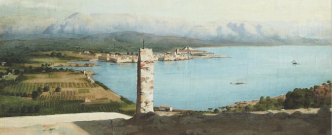 Peinture de paysage par Charles Nègre