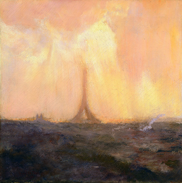 Gaston La Touche, Tour Eiffel