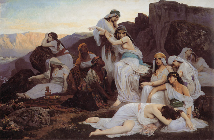 Édouard_Debat-Ponsan_The_daughter_of_jephthah