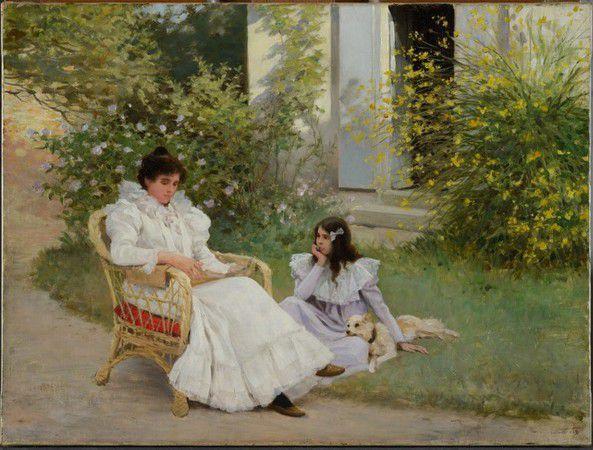Debat-Ponsan, Mère et fille