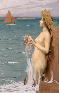 Alexandre Séon (1855-1917) - La Sirène, 1896 - Musée d'Art Moderne de Saint-Etienne Métropole © photo Yves Bresson