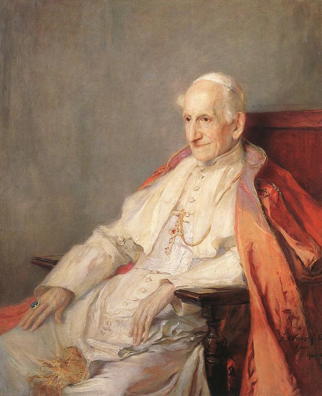 Pape Leon XIII, Laszlo