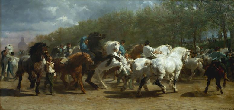 Rosa Bonheur, Le Marche aux chevaux