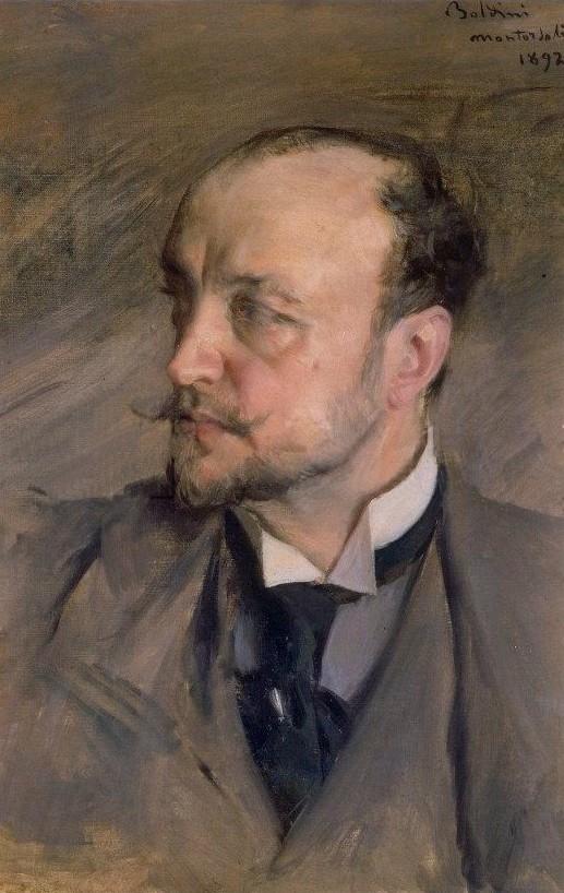 Boldini, Autoportrait, 1892