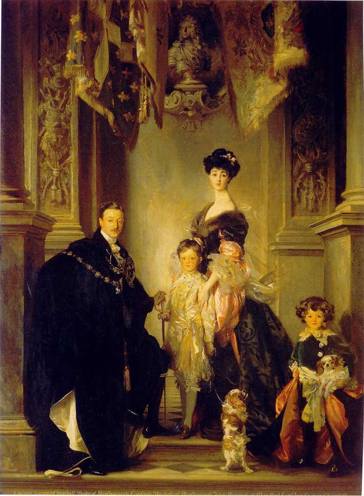 John Singer Sargent, Le duc et la duchesse de Marlborough et leurs enfants, 1905