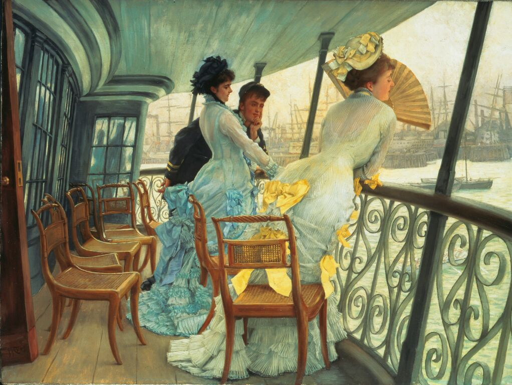 James Tissot, Le Pont du HMS Calcutta
