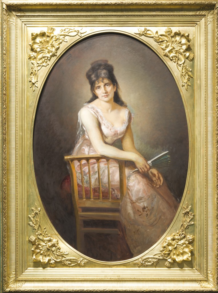 Marcello, Portrait de Berthe Morisot, Paris, 1875, Huile sur toile, musée d'art et d'histoire