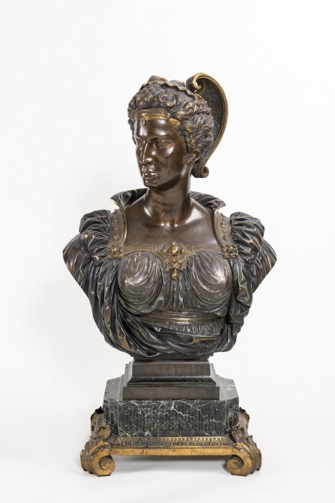 (modèle exposé au Salon de 1863) Bronze partiellement doré, 1863 Musée des suisses dans le Monde, Genève (dépôt du Musée gruérien, Bulle) © MSM / Lightmotif-Blatt