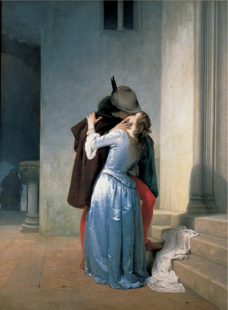 Il Bacio, 1867, collection privée