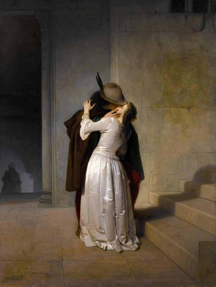 Il Bacio, 1861, collection privée