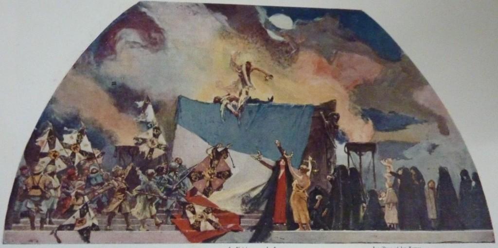LA GLOIRE DU POILU, 1921-1922, technique, dimensions et localisation actuelle inconnues.