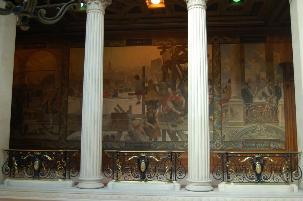 Flameng, peinture Sorbonne