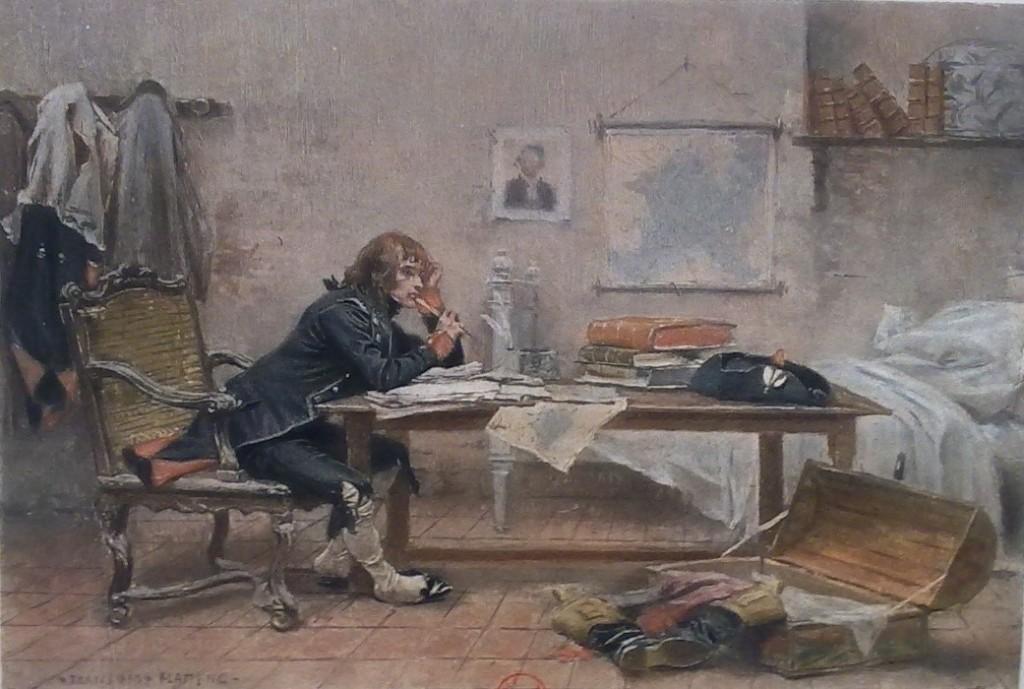 Flameng, Bonaparte dans sa chambre