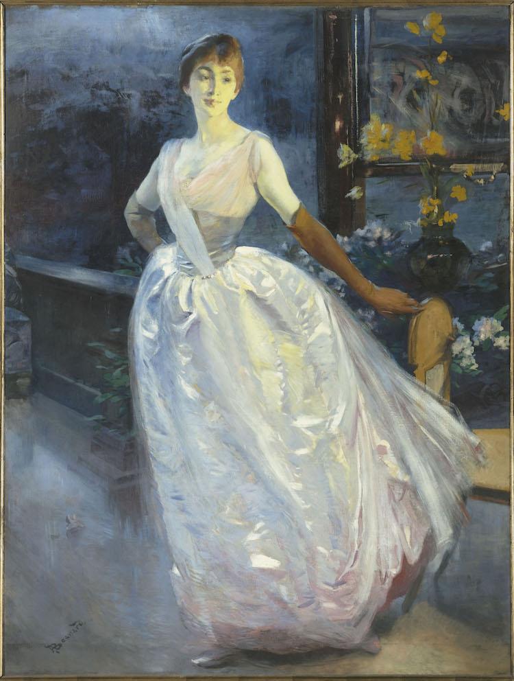 Abert Besnard, Portrait de Mme Jourdain