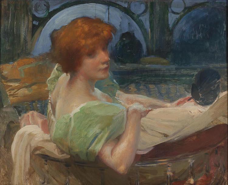Albert Besnard, Mme Rodenbach