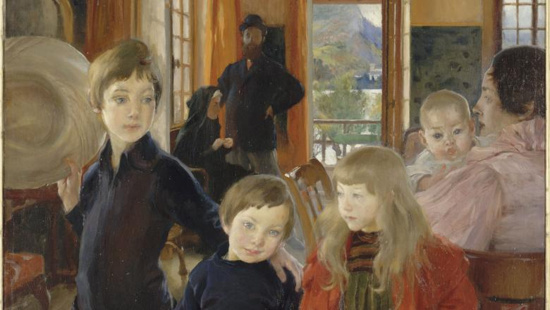 Albert Besnard, Portrait de famille