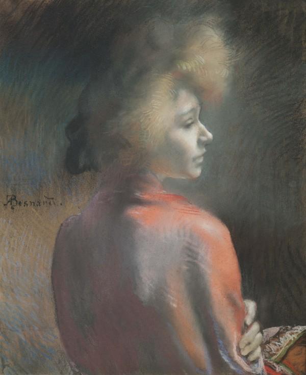 Albert Besnard, Le Châle rouge