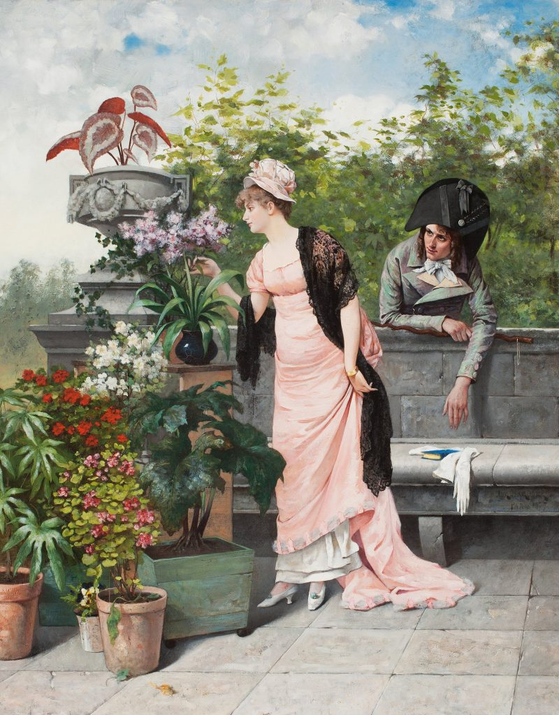 Pensées intimes, August Hagborg, 1877.