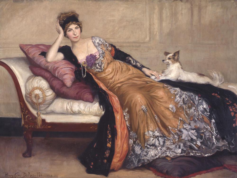 Henry Caro-Delvaille, Portrait de Madame Simone