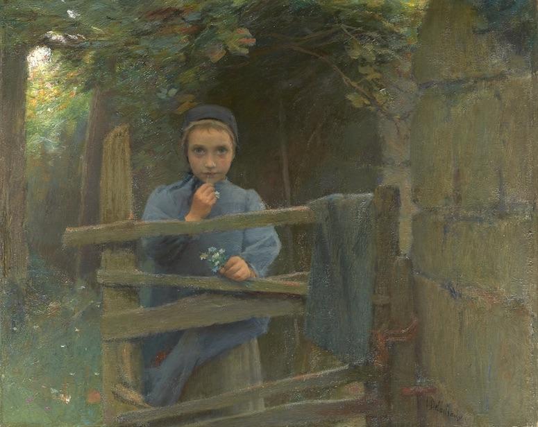 Marguerite, petite paysanne du Blanc