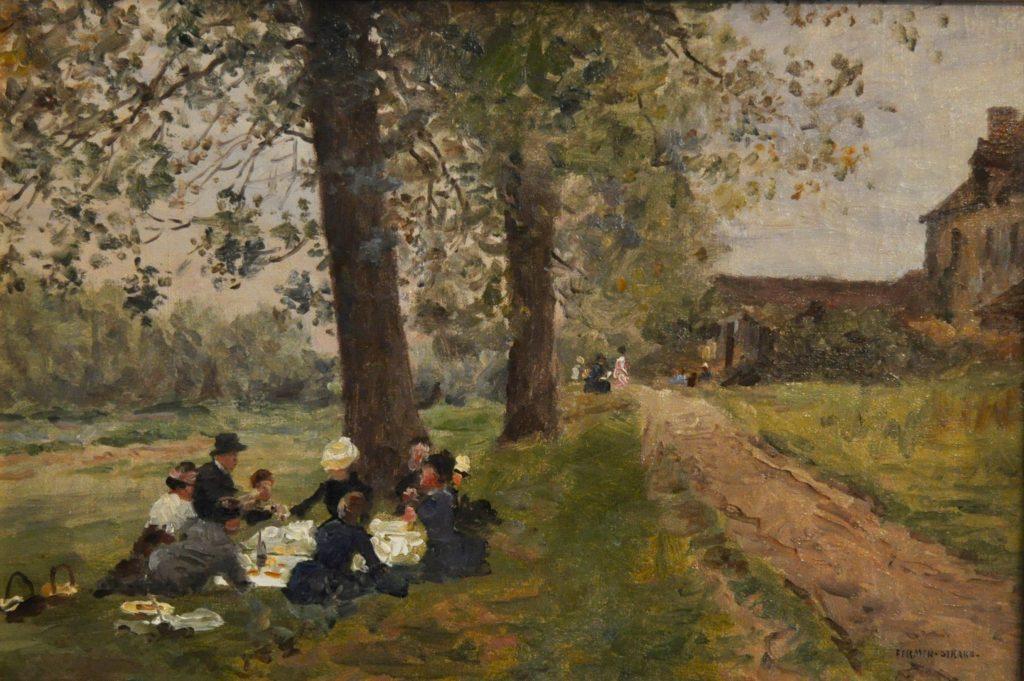 Firmin-Girard, Déjeuner sur l'herbe