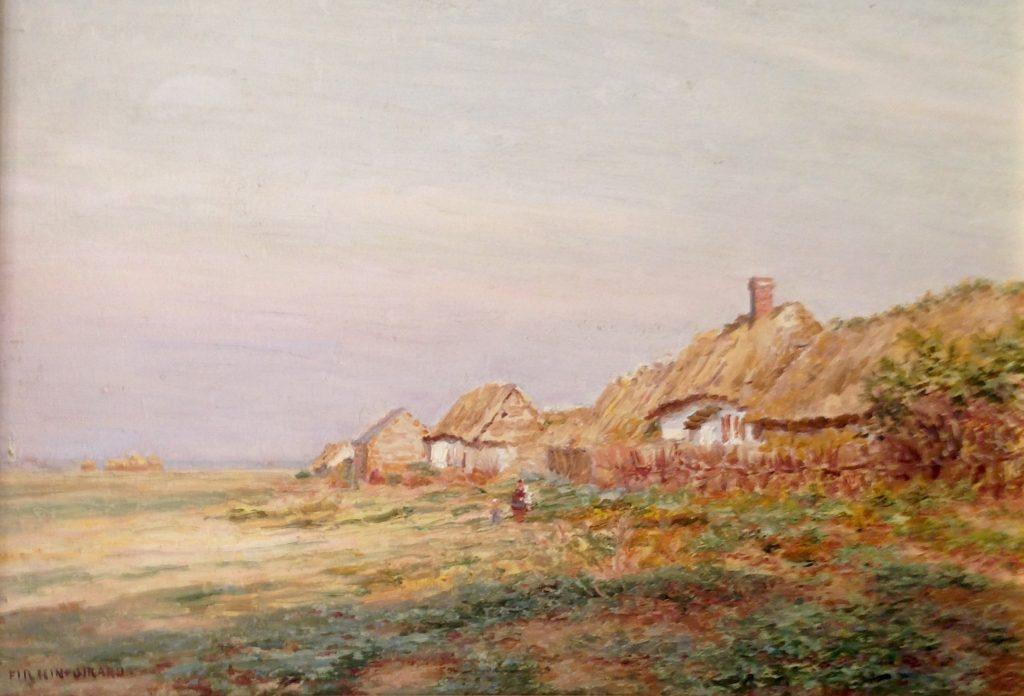 Firmin-Girard, Maisons de pêcheurs aux toits de chaume