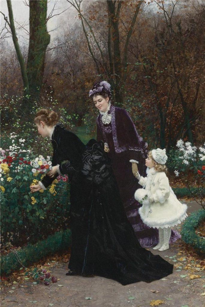 Le jardin de la marraine