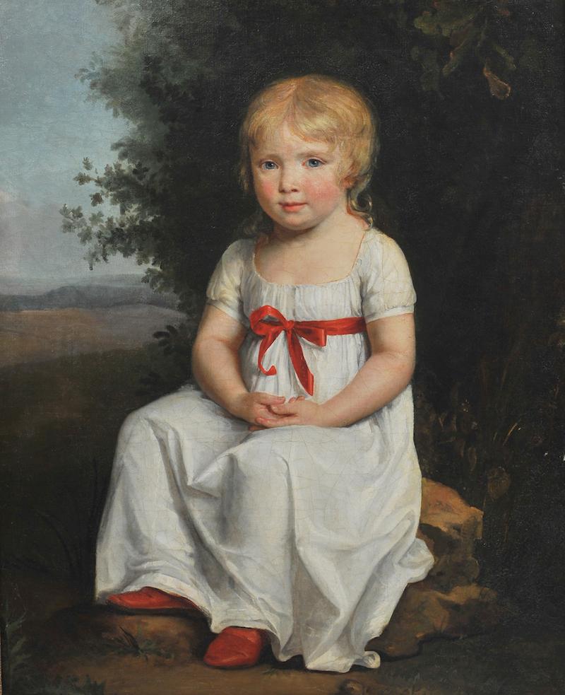 Portrait de Julie par Constance Charpentier