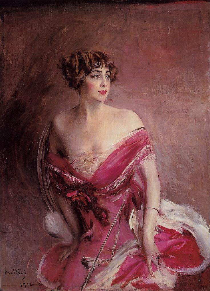Boldini, La dame de Biarritz
