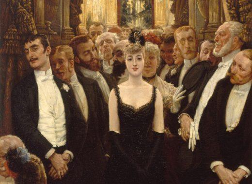 Tissot, belle femme de Paris