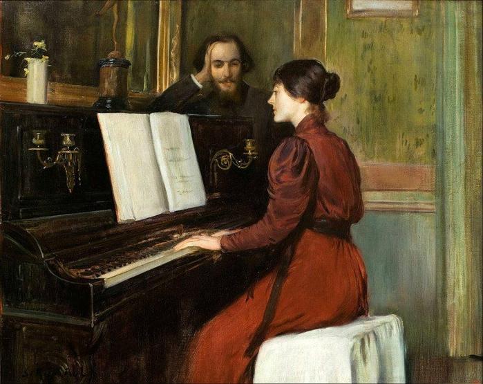 Rusiñol, Una Romanza, 1894