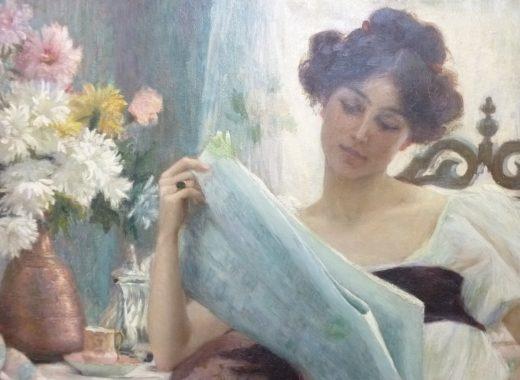 Blanche Paymal, la lecture
