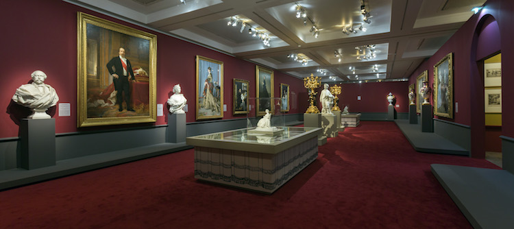 Scénographie de l'exposition Second Empire