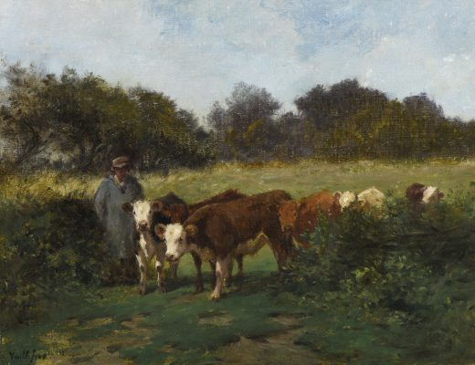 Felix de Vuillefroy, troupeau de vaches