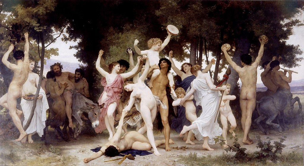 William Bouguereau, La Jeunesse de Bacchus, 1884