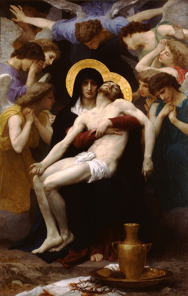 William Bouguereau, Pieta, 1876