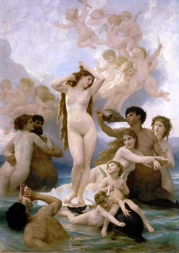 William Bouguereau, La Naissance de Venus, 1879