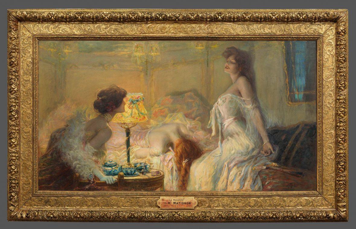 Morphine d'Albert Matignon, 1905