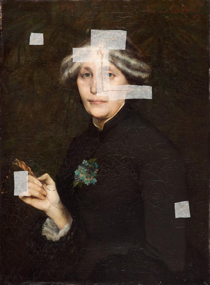Portrait de Mme Géo-Rémy, mère de l'artiste